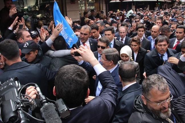 Ahmet Davutoğlu Konya'da böyle karşılandı 7