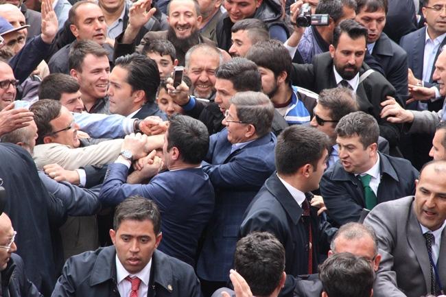 Ahmet Davutoğlu Konya'da böyle karşılandı 8