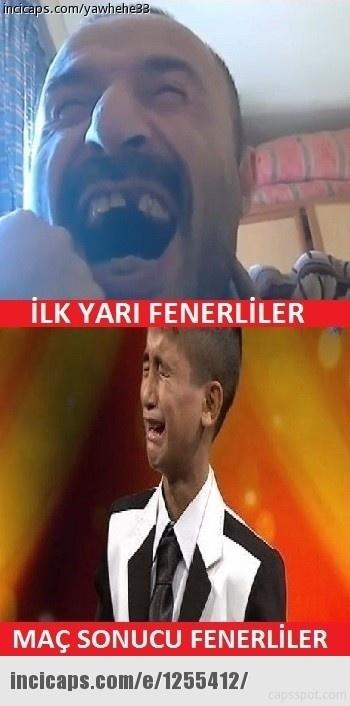 Galatasaray - Beşiktaş maçı caps'leri 1