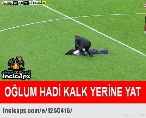 Galatasaray - Beşiktaş maçı caps'leri 10