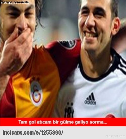 Galatasaray - Beşiktaş maçı caps'leri 11