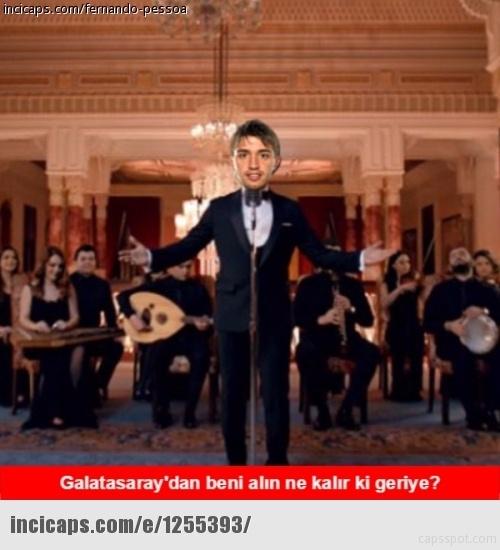 Galatasaray - Beşiktaş maçı caps'leri 13
