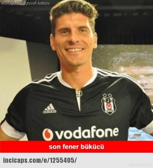 Galatasaray - Beşiktaş maçı caps'leri 15
