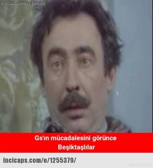 Galatasaray - Beşiktaş maçı caps'leri 16
