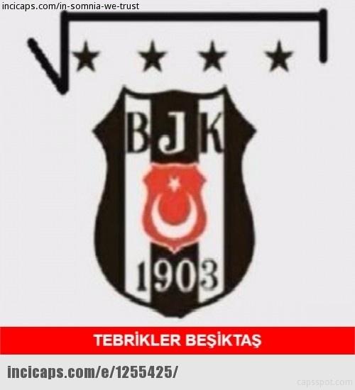 Galatasaray - Beşiktaş maçı caps'leri 2