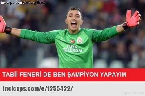 Galatasaray - Beşiktaş maçı caps'leri 3