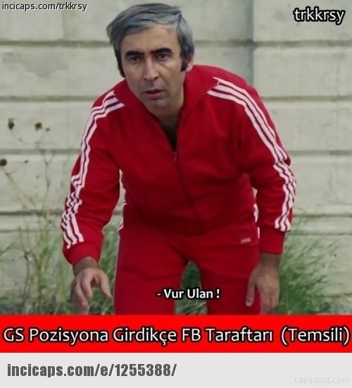 Galatasaray - Beşiktaş maçı caps'leri 6