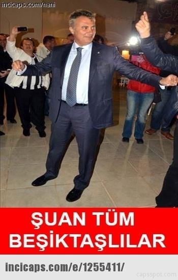 Galatasaray - Beşiktaş maçı caps'leri 8