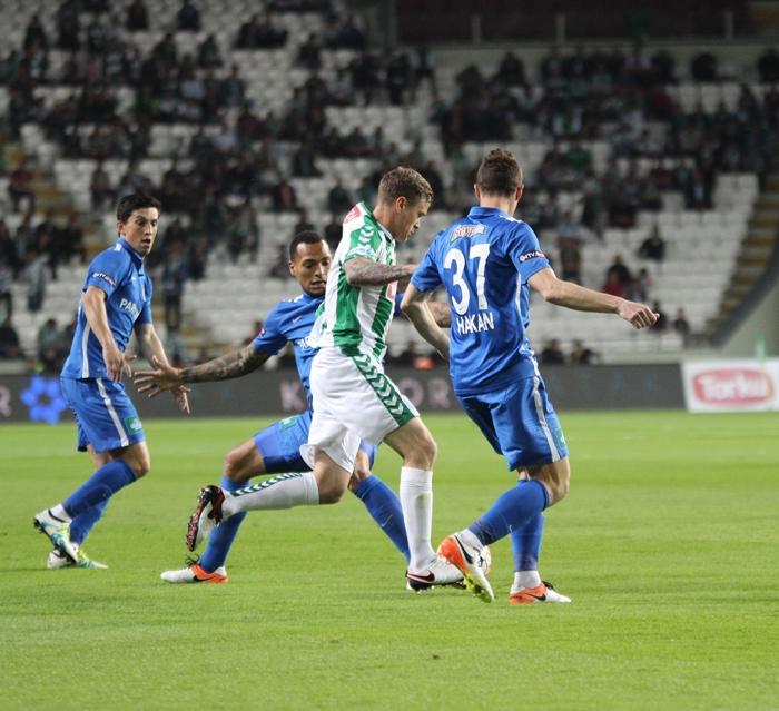 Konyaspor-Kasımpaşa maçının fotoğrafları 8