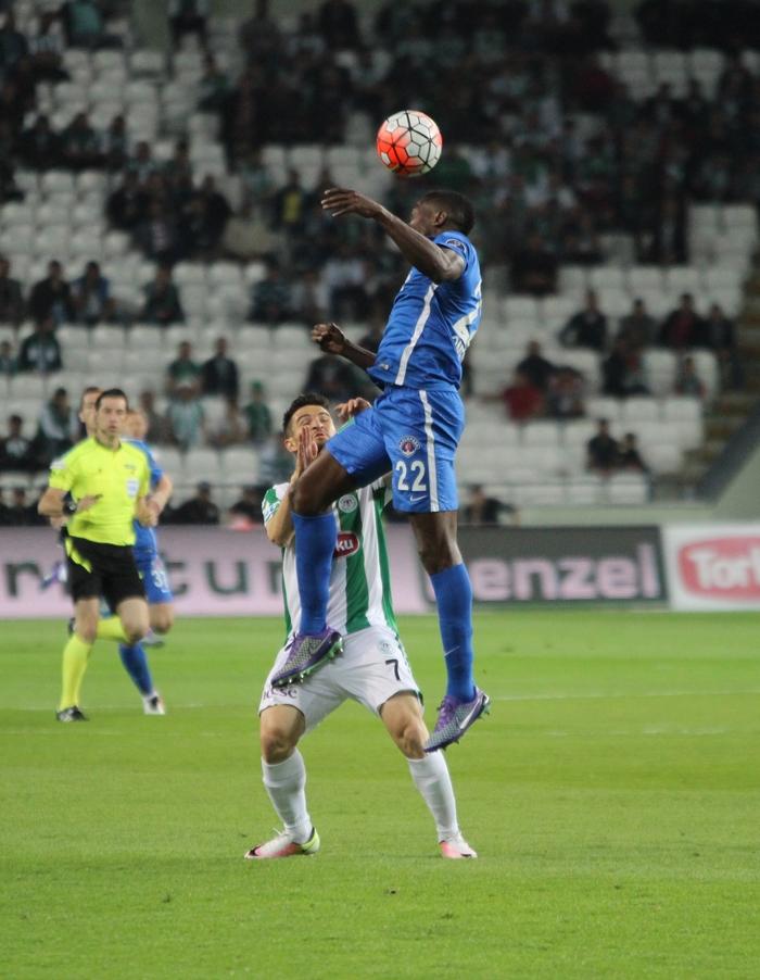 Konyaspor-Kasımpaşa maçının fotoğrafları 9