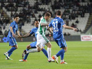 Konyaspor-Kasımpaşa maçının fotoğrafları