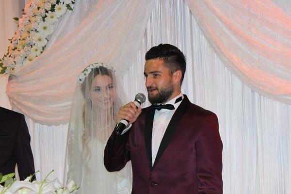 Konyasporlu Ömer Ali Şahiner evlendi 18