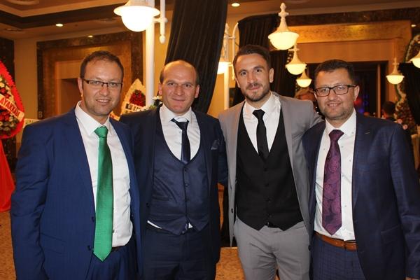 Konyasporlu Ömer Ali Şahiner evlendi 33