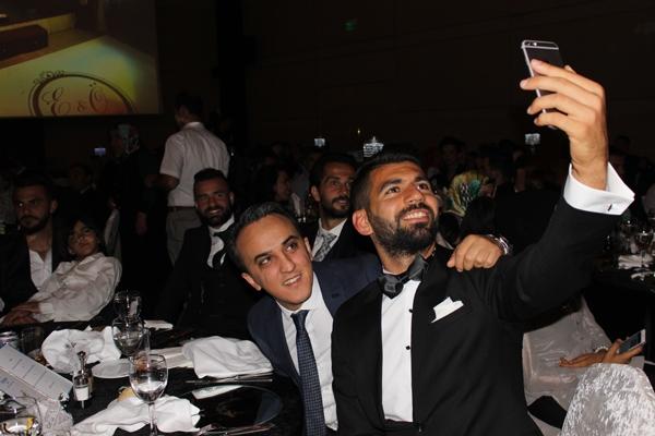 Konyasporlu Ömer Ali Şahiner evlendi 42