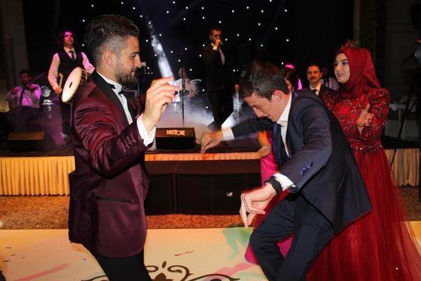 Konyasporlu Ömer Ali Şahiner evlendi 47