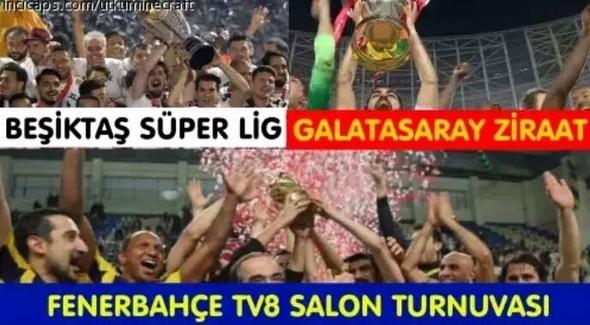 Galatasaray-Fenerbahçe kupa maçının capsleri burada 10