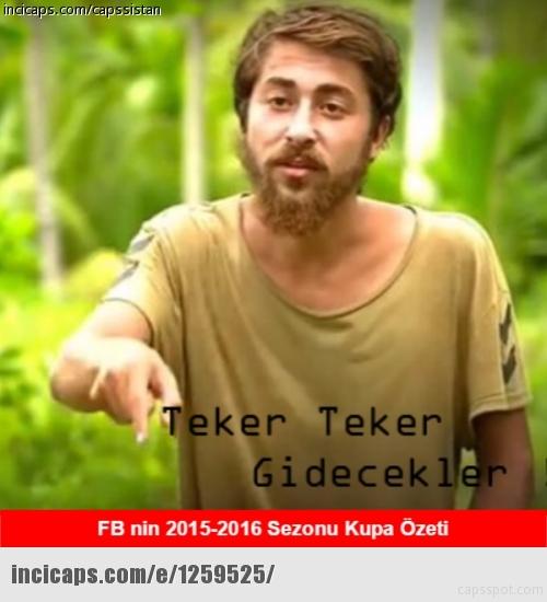 Galatasaray-Fenerbahçe kupa maçının capsleri burada 24