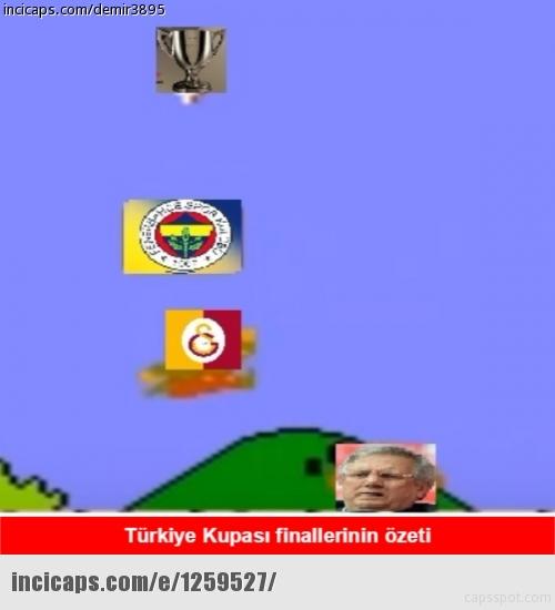 Galatasaray-Fenerbahçe kupa maçının capsleri burada 26