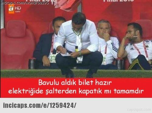 Galatasaray-Fenerbahçe kupa maçının capsleri burada 32