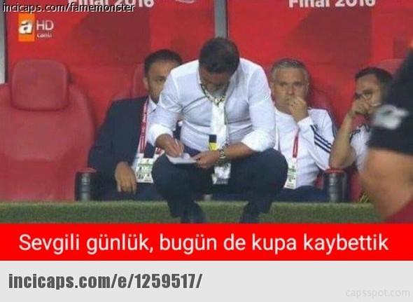 Galatasaray-Fenerbahçe kupa maçının capsleri burada 5