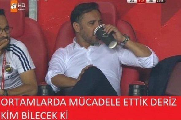 Galatasaray-Fenerbahçe kupa maçının capsleri burada 9
