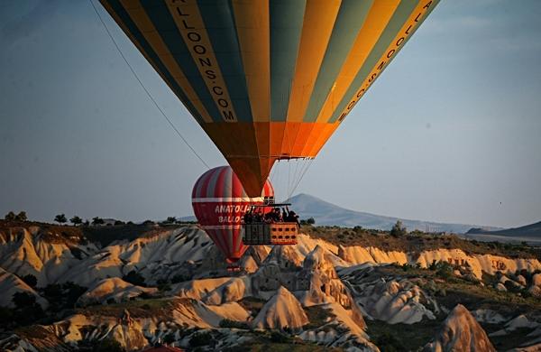 Tarihin doğayla kesiştiği yer: Kapadokya 8
