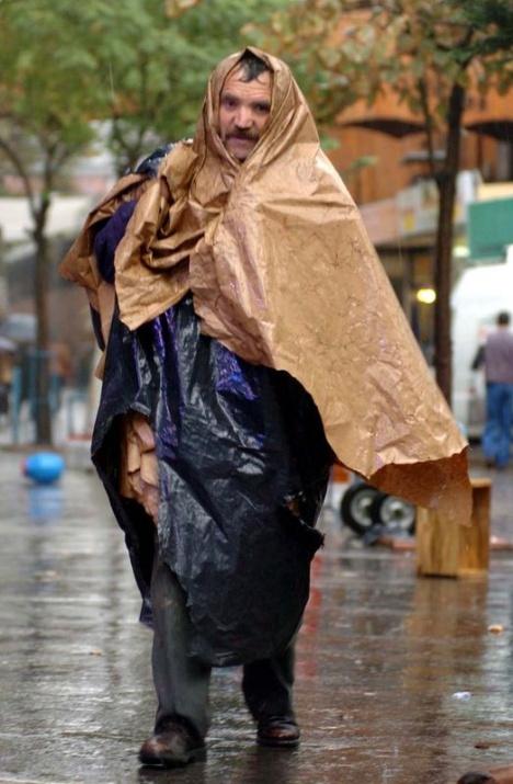 Yağmura yakalanan yurdum insanı 17