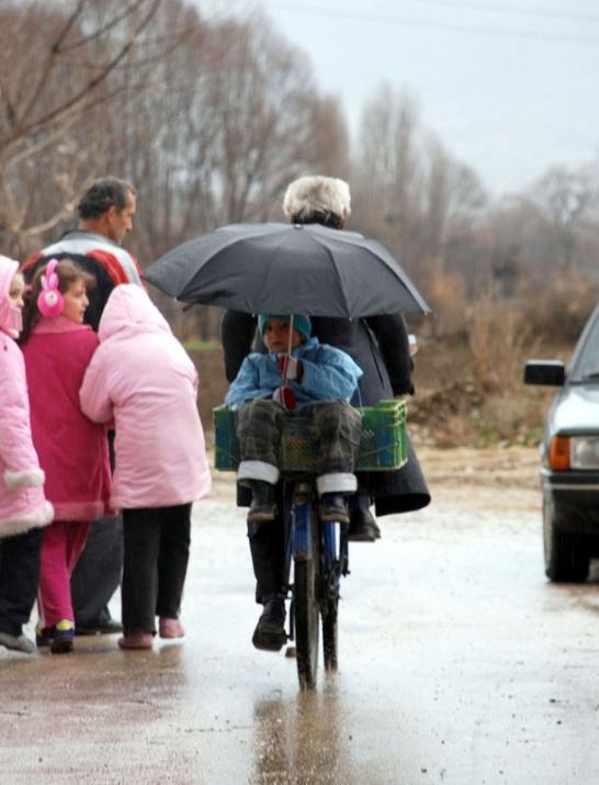 Yağmura yakalanan yurdum insanı 25