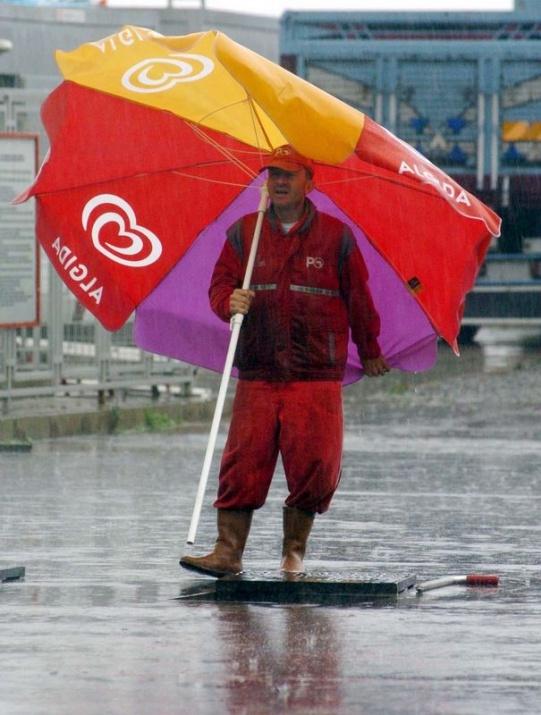 Yağmura yakalanan yurdum insanı 5