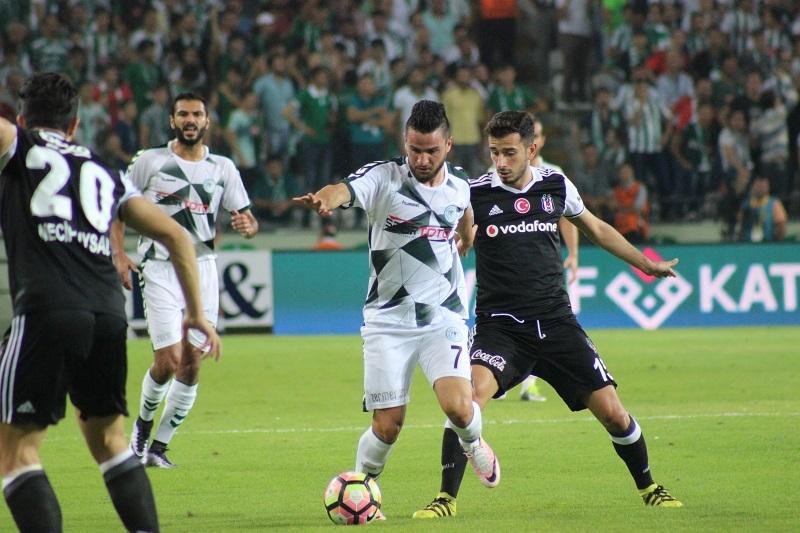 Atiker Konyaspor - Beşiktaş maçından kareler 11