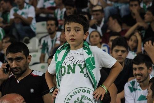 Atiker Konyaspor - Beşiktaş maçından kareler 12