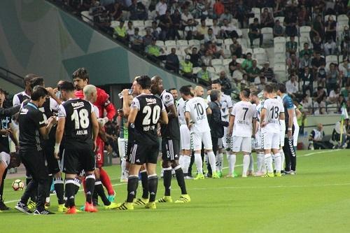 Atiker Konyaspor - Beşiktaş maçından kareler 13