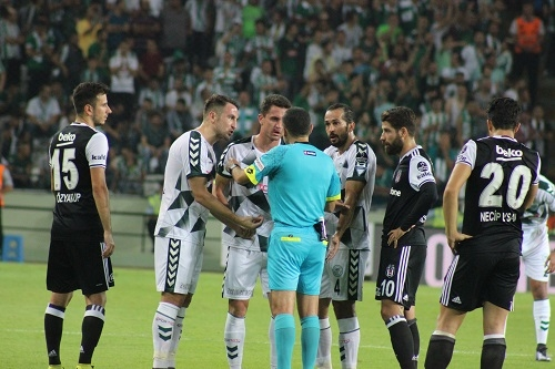 Atiker Konyaspor - Beşiktaş maçından kareler 16