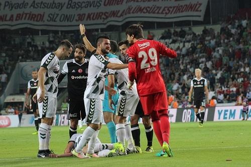 Atiker Konyaspor - Beşiktaş maçından kareler 19