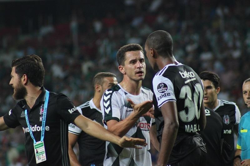 Atiker Konyaspor - Beşiktaş maçından kareler 25