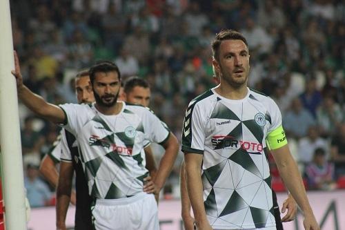 Atiker Konyaspor - Beşiktaş maçından kareler 27