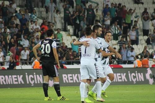 Atiker Konyaspor - Beşiktaş maçından kareler 28