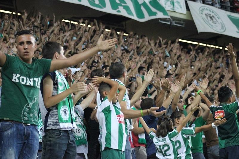 Atiker Konyaspor - Beşiktaş maçından kareler 29