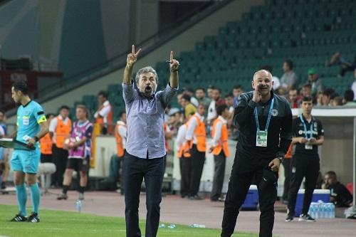 Atiker Konyaspor - Beşiktaş maçından kareler 30