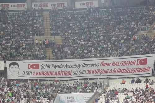 Atiker Konyaspor - Beşiktaş maçından kareler 7