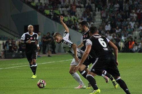 Atiker Konyaspor - Beşiktaş maçından kareler 8