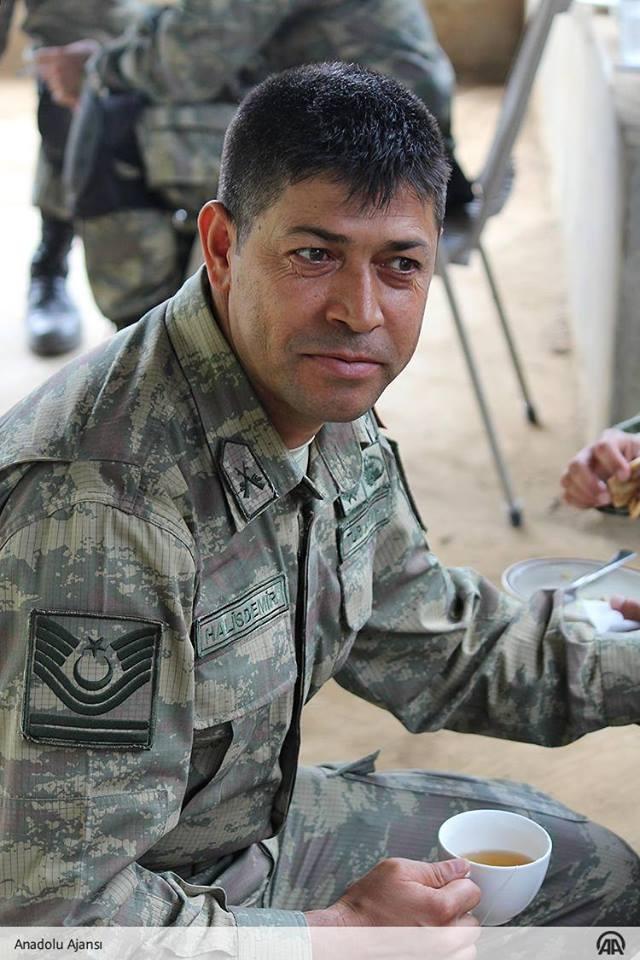 Kahraman Astsubayımız Ömer Halisdemir'in tatbikat fotoğrafları 5