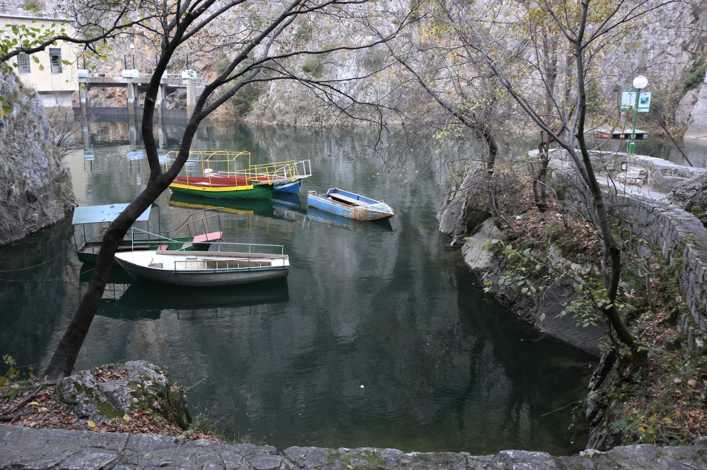 Makedonya'nın saklı cenneti: Matka Kanyonu 1