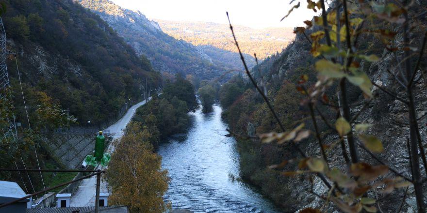 Makedonya'nın saklı cenneti: Matka Kanyonu