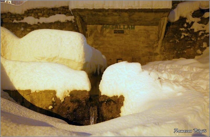 Hadim'den kar manzaraları 1