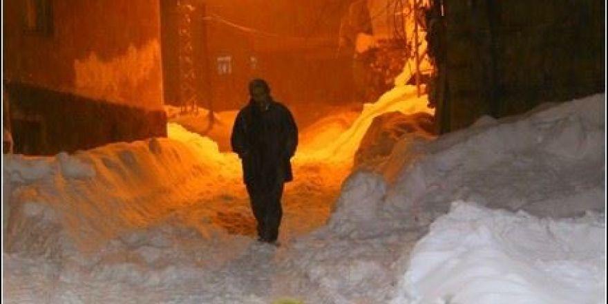 Hadim'den kar manzaraları