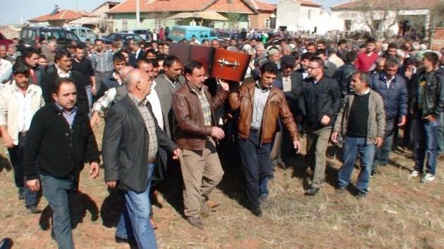 Aksaray'daki 3 kardeşin cenazesi toprağa verildi 1