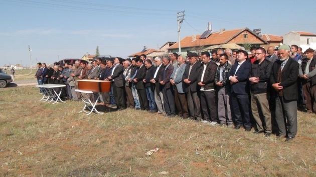Aksaray'daki 3 kardeşin cenazesi toprağa verildi 4