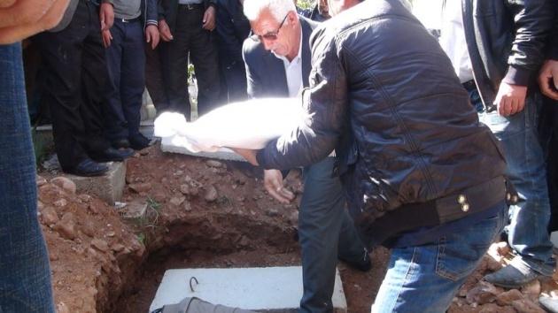 Aksaray'daki 3 kardeşin cenazesi toprağa verildi 9