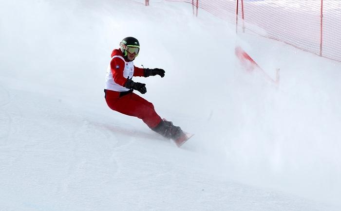 Erzurum Uluslararası Snowboard Büyük Slalom Yarışları Sona Erdi 1
